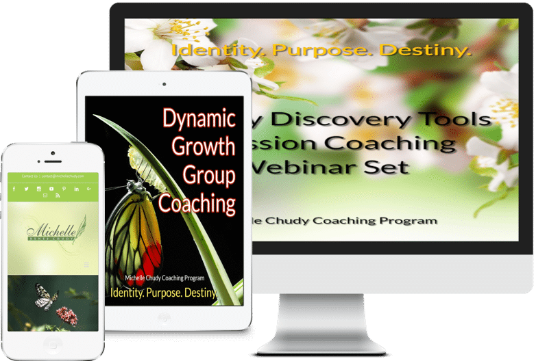 Shop Michelle Chudy Coaching Products