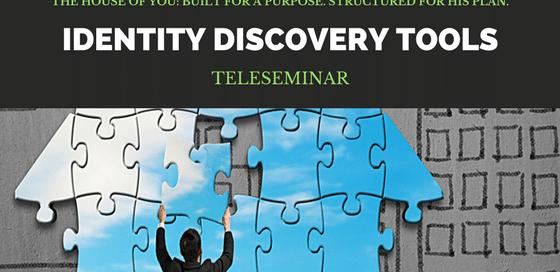 Identity Discovery Tools Teleseminar