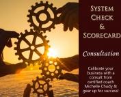 System Check and Scorecard Consultation