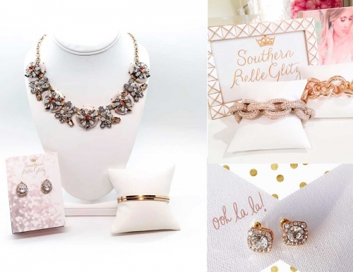 Southern Belle Glitz Statement Jewelry