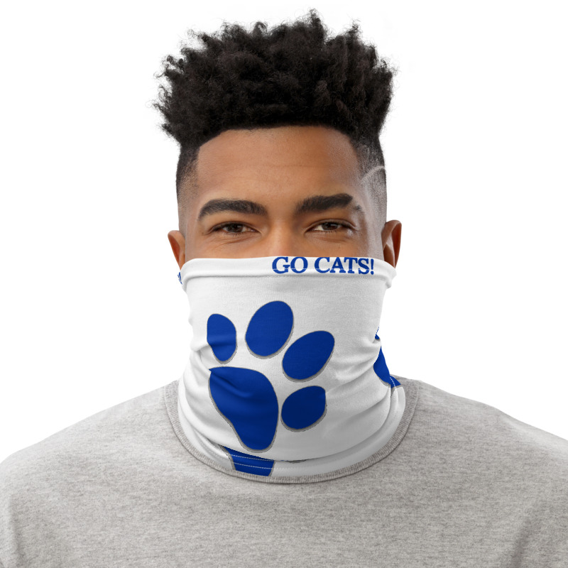 Go Cats Face Mask Gaiter