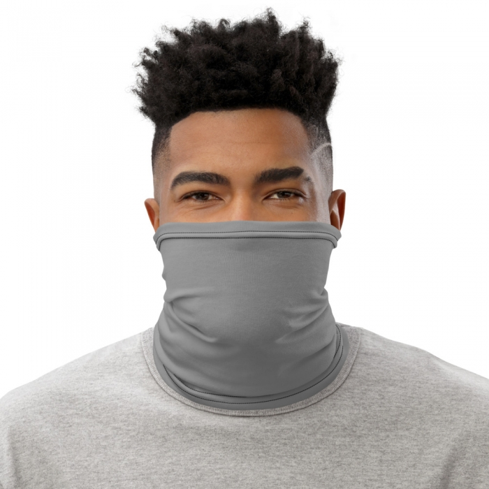 Grey Gaiter Face Mask