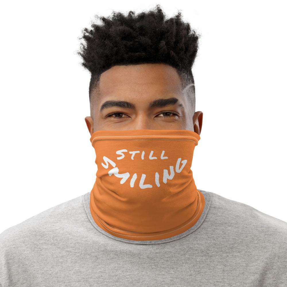 Orange Gaiter Face Mask