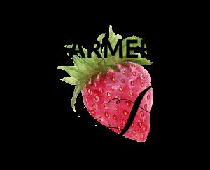 Strawberry Farmer Art