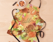 Falling Squirrel Copper Apron